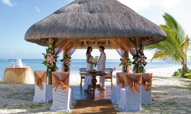 свадьба на Бермудах