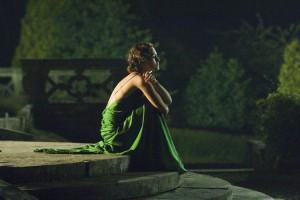 С чем одеть зеленое платье