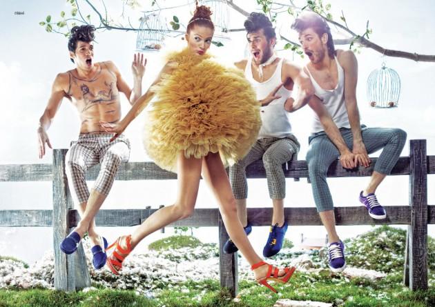 Модная женская обувь весна-лето 2012