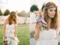 Свадебный (барвинковый) венок для невесты