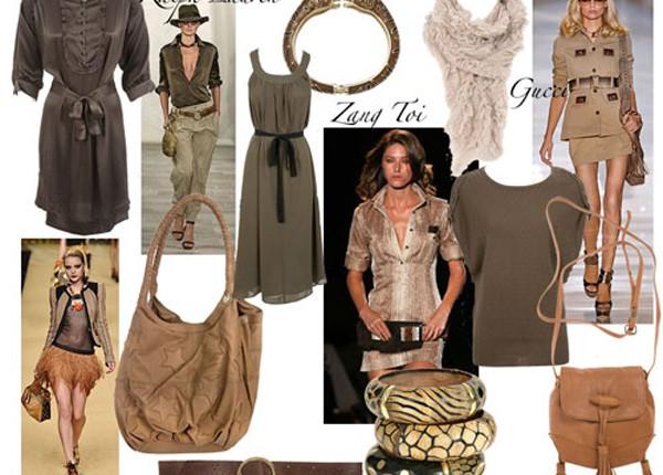 Стиль одежды сафари