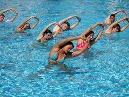 Занятия фитнесом летом