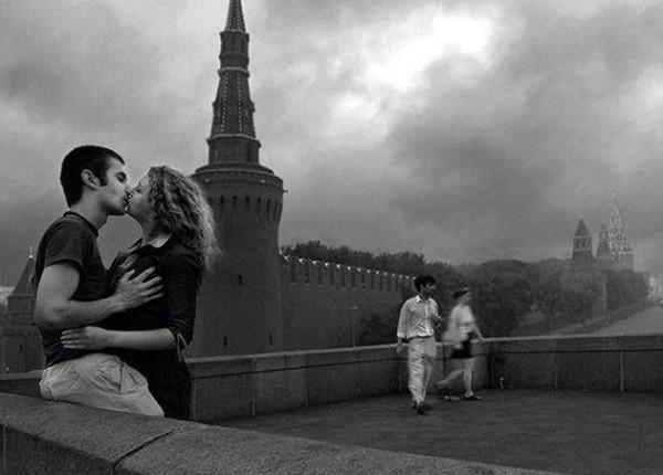 День святого Валентина - поцелуи