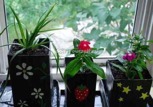 Подарки своими руками на 8 марта - горшок для цветов