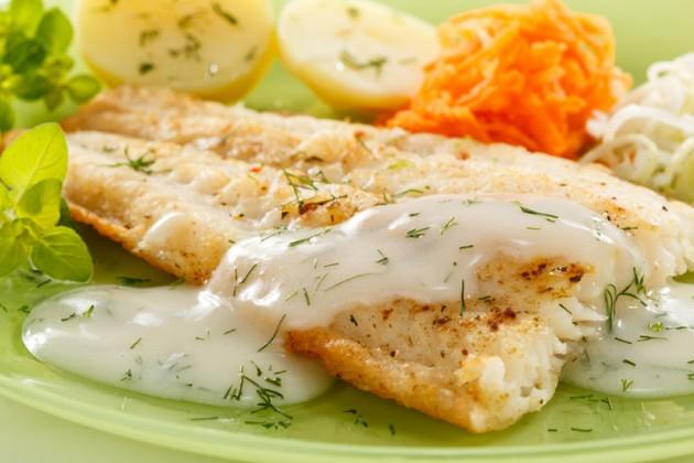 Овощи-гриль со сливочным соусом – кулинарный рецепт