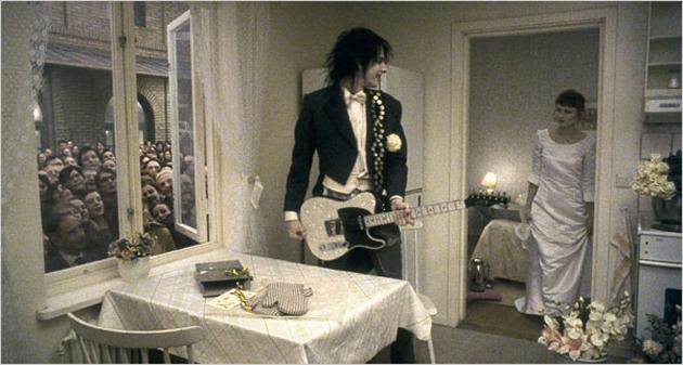 свадьба в стиле рок-н-ролл