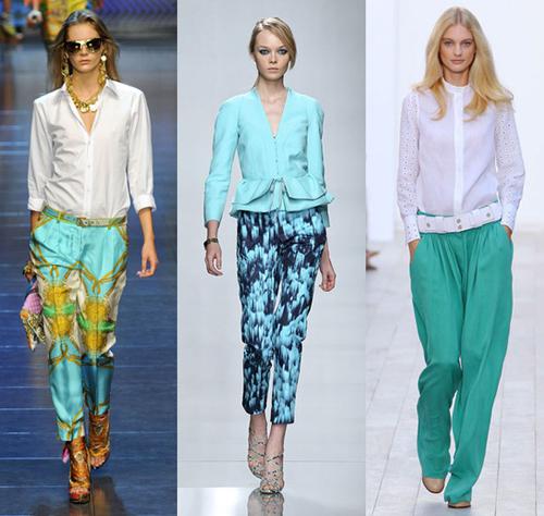 Модные цвета весна – лето 2012