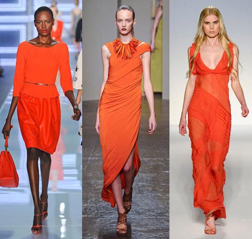 Модные цвета весна лето 2012