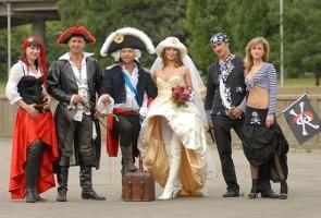 Свадьба в стиле пиратов Карибского моря