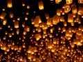 Небесные фонарики на свадьбу – романтические моменты свадебного торжества!
