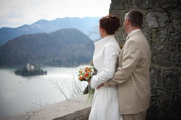 Свадебная церемония 2012 в Постоинской пещере