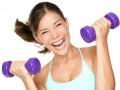 Фитнес с гантелями для женщин — упражнения для похудения