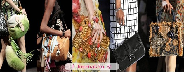 Модные аксессуары весна–лето 2012 - сумки