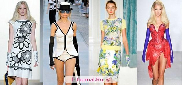 Модные аксессуары весна–лето 2012 – перчатки