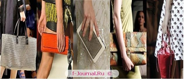 Модные сумки весна–лето 2012 – фасон
