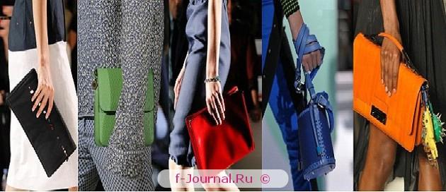 Модные сумки весна–лето 2012 – цвет