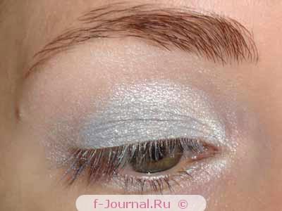 Вечерний макияж в синих тонах