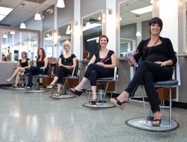 Прическа на 8 марта - салон красоты