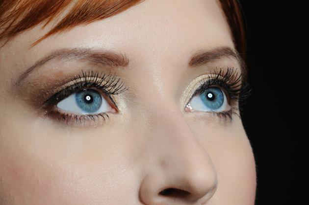 Дневной макияж глаз
