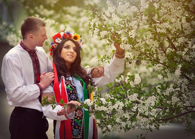 Свадебные традиции в Украине