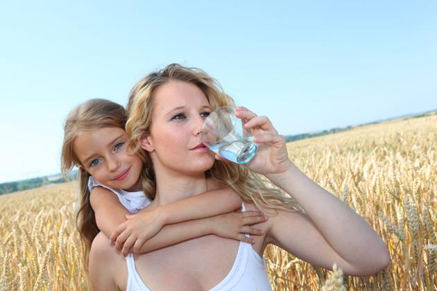 Лечение талой водой