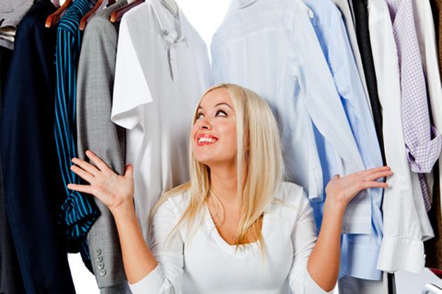 Пересмотреть свой гардероб
