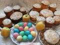 Кулич с изюмом, орехами и цукатами — рецепт с фото