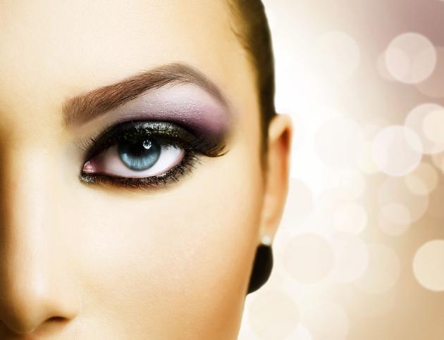 Простой макияж глаз