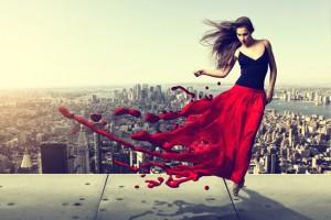 Модная юбка-макси лето 2012