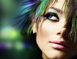 Яркий летний макияж - фото