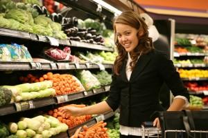 покупка продуктов для стройной фигуры