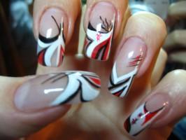 Павлиний глаз - дизайн ногтей