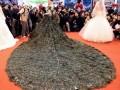 Павлиньи перья — модный свадебный тренд