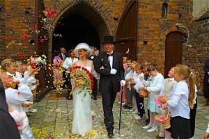 Церемония бракосочетания по-английски
