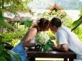 Экзотические цветы на свадьбе