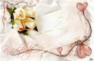 Традиционные пригласительные на свадьбу