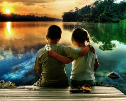 Как научить ребенка дружить?