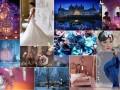 Зимняя свадьба в стиле «Ледяной дворец»