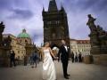 Романтическая свадебная церемония в Чехии