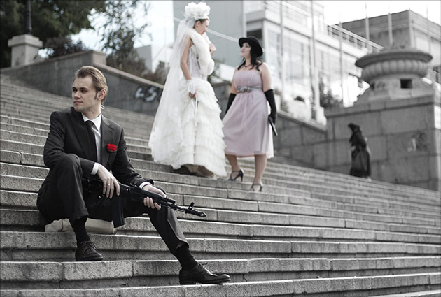 гангстерская свадьба харьков.