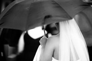 Свадьба в дождливую погоду