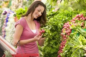 Низкокалорийные фрукты и овощи