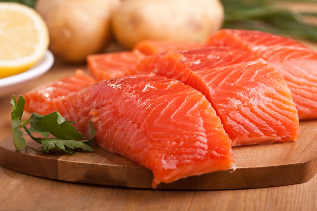 Виды красных рыб