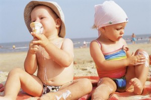 Солнцезащитная косметика для детей