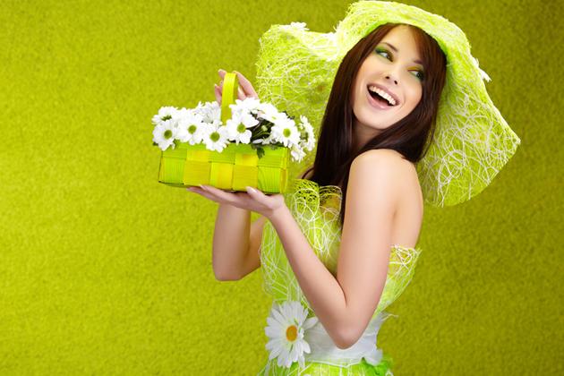 Цвет 2013 года - зеленый!