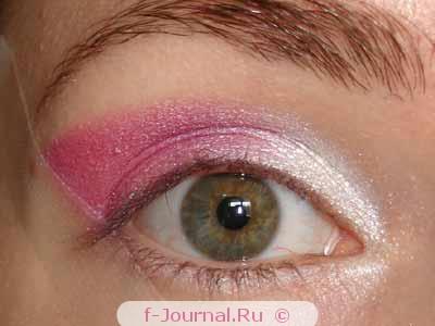 Вечерний макияж в розовых тонах