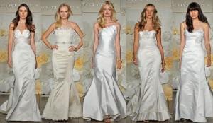 Актуальная свадебная мода 2011