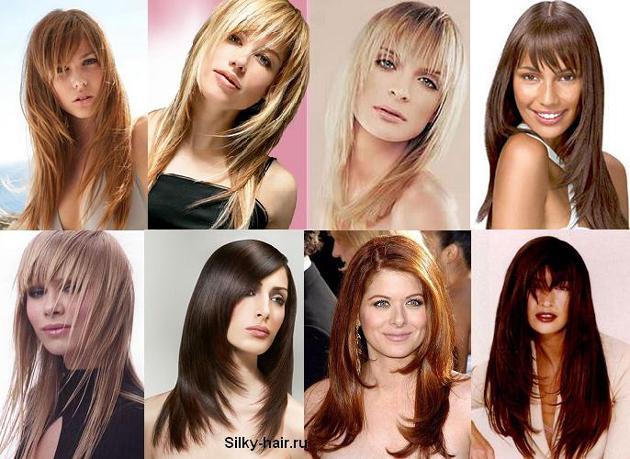 прически для прямых и вьющихся волос