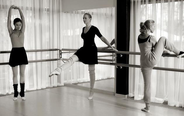 Занятия у балетного станка