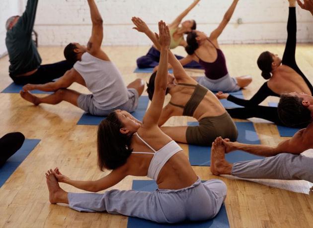 фитнес - проработка глубоких мышц